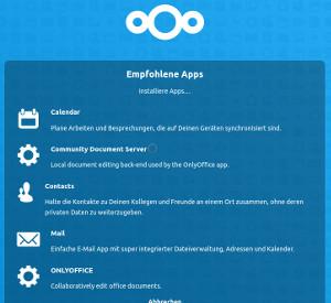 Nextcloud Hub (18) mit integriertem ONLYOFFICE ist verfügbar (theoretisch)