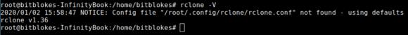 rclone 1.36 ist im Repository, kann aber kein WebDAV