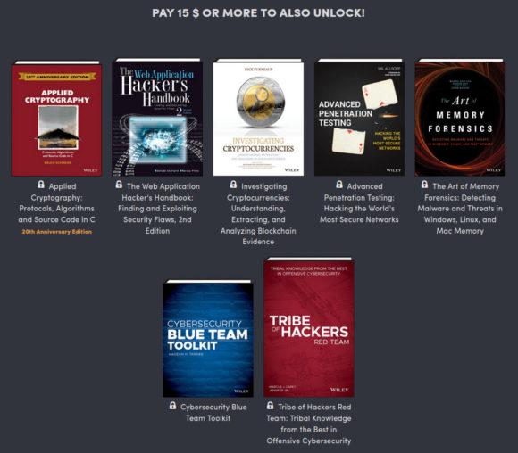 Für 15 $ gibt es noch Mal 7 Bücher