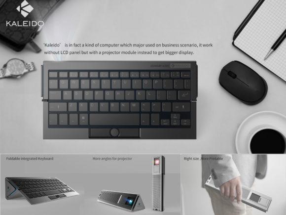 Kaleido – Computer mit integrierter Tastatur und Projektor (Quelle: ifworlddesignguide.com)
