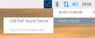 Audio-Einstellungen – alles in einer App