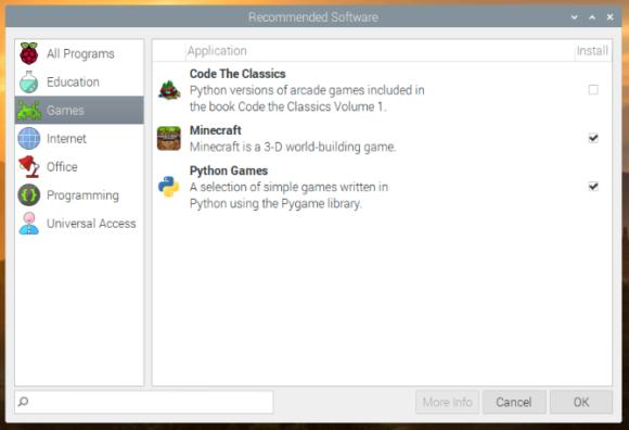 Code the Classics unter Raspbian installieren