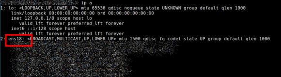 Bei meinem Ubuntu VPS ist die Netzwerkschnittstelle ens18 das Tor zum Internet für den WireGuard VPN Server