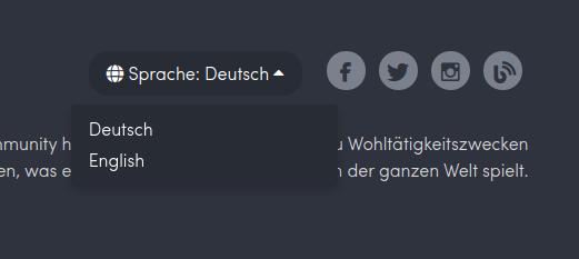 HumbleBundle.com auf Deutsch umstellen