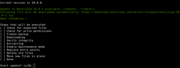 Nextcloud Hub 18.0.1 ist da
