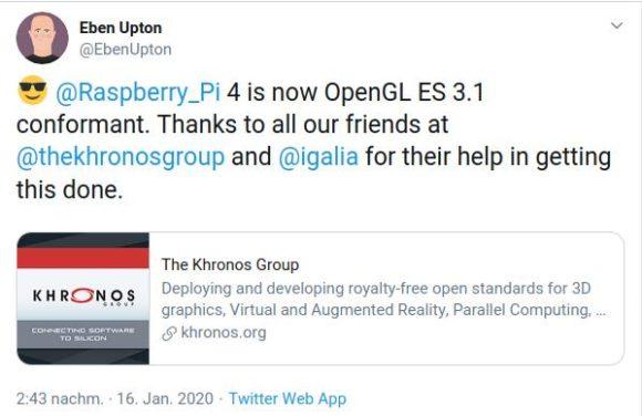 Auf OpenGL ES 3.1 folgt Vulkan