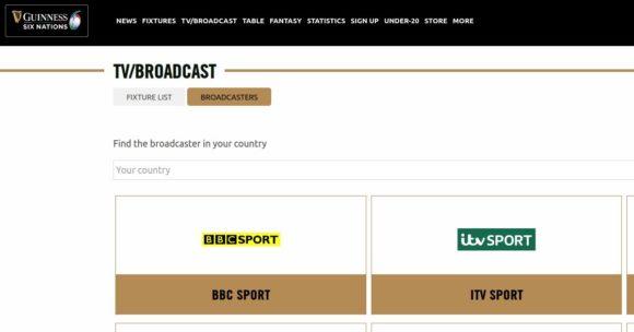 BBC und ITV Hub übertragen die Rugby Six Nations im Free-TV