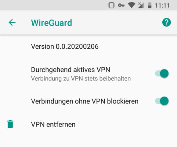 Durchgehend aktives VPN und Kill-Switch – dauerhafte Verbindung zum WireGuard VPN Server