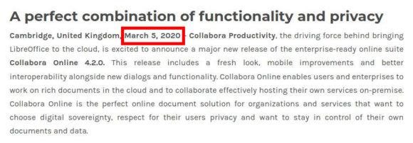 Collabora Online 4.2.0 schon heute!