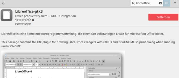 GTK3-Integration hat gefehlt