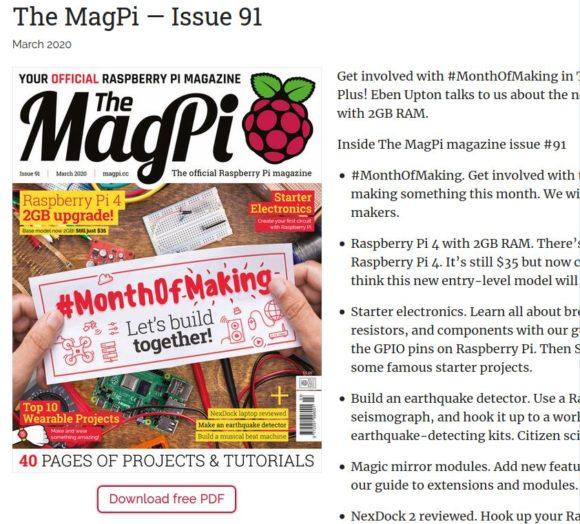 MagPi 91 ist verfügbar – kostenloser PDF-Download