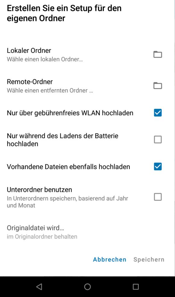 Nextcloud für Android 3.11.0 lädt nun auch vorhandene Bilder hoch