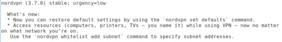 NordVPN 3.7.0 für Linux mit zwei Neuerungen