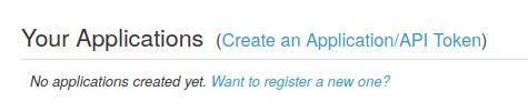 Mit Pushover einen Application Token erstellen