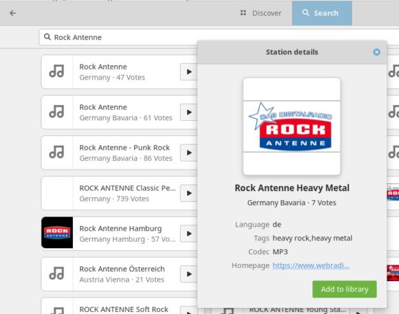 Internet-Radio-Streams zu Deinen Favoriten hinzufügen