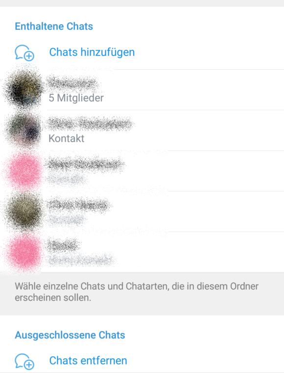 Chats hinzufügen