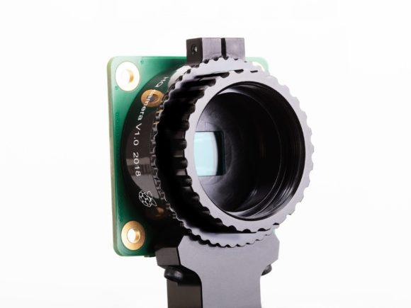 Hochwertige Kamera für Raspberry Pi ohne Objektiv (Quelle: raspberrypi.org)