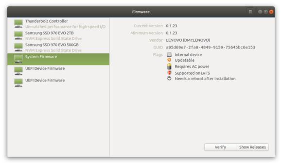 Firmware Updates (Quelle: ubuntu-mate.org)