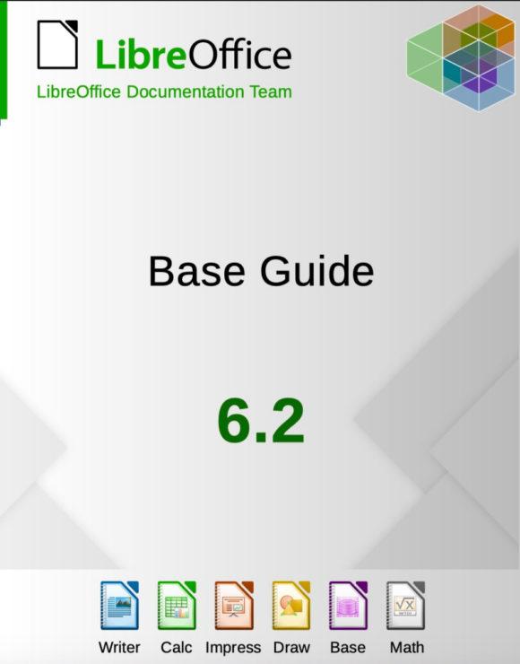 LibreOffice Base Guide 6.2