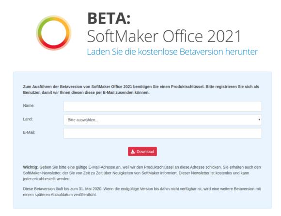 Öffentliche Beta-Version von SoftMaker Office 2021 darf getestet werden