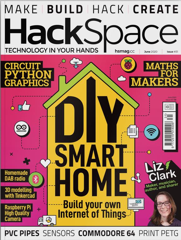 HackSpace Magazin 31 ist da – PDF ist kostenlos