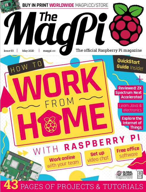 Das MagPi 93 ist ab sofort erhältlich