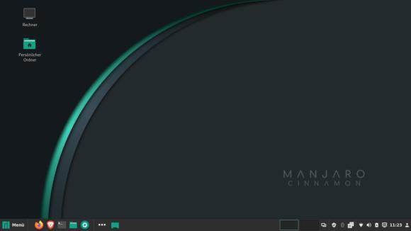 Manjaro – Cinnamon Edition – wirkt sehr stimmig