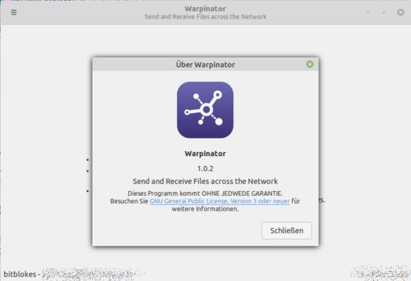 Linux Mint 20 wird mit dem Warpinator ausgestattet