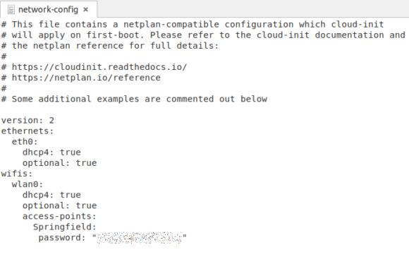 So könnte eine WLAN-Konfiguration aussehen