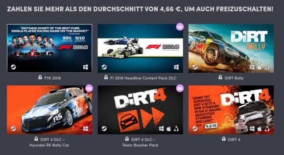 DiRT Rally und DiRT 4