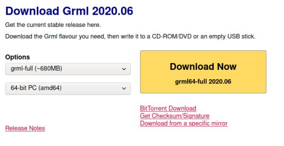 Grml 2020.06 steht zum Download bereit