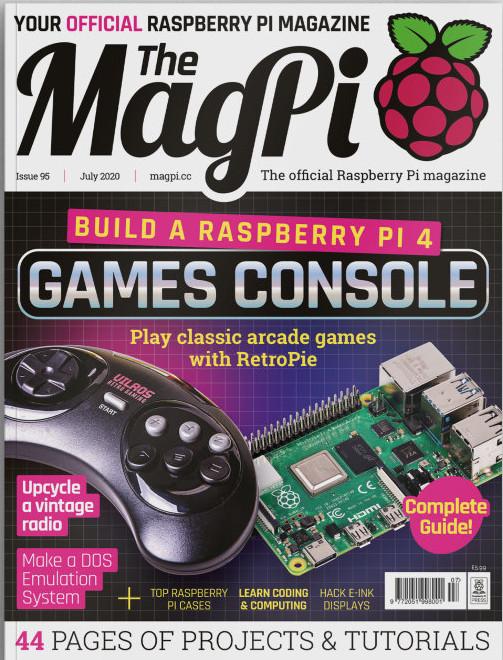MagPi 95 ist da! (Quelle: raspberrypi.org)