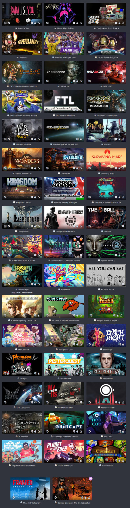 Jede Menge Spiele im Humble Fight for Racial Justice Bundle