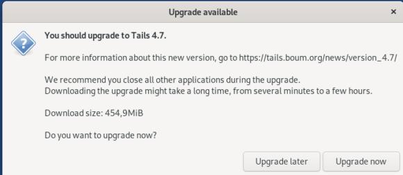 Tails 4.7 steht bereit