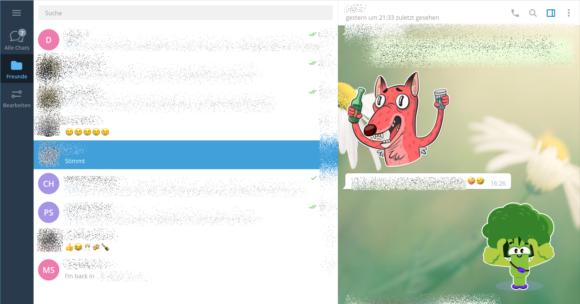 Desktop App von Telegram unter Linux Mint 20