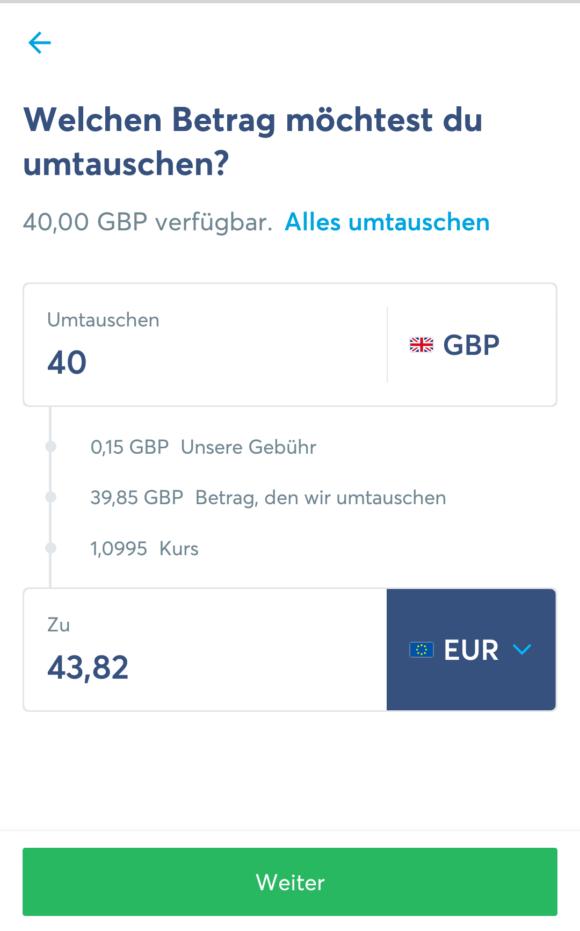 TransferWise mit wirklich fairen Gebühren