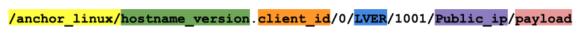 TrickBot – Anchor_Linux String (Quelle: Waylon Grange)