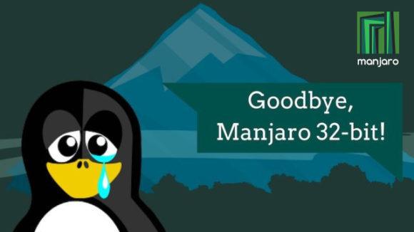 Mit einem weinenden Auge verabschieden sich die Entwickler von Manjaro32 (Quelle: forum.manjaro.org)