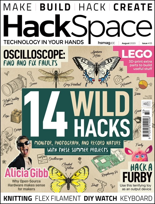 Hackspace 33 mit tollen Tipps ist da (Quelle: hackspace.raspberrypi.org)