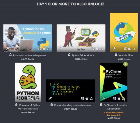 Für nur 1 Euro Python lernen