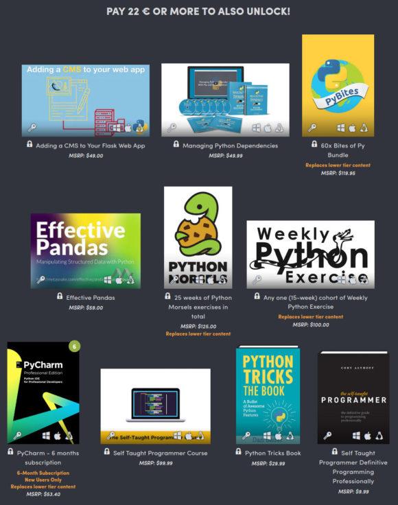 Python lernen – für 22 Euro ist das im Paket