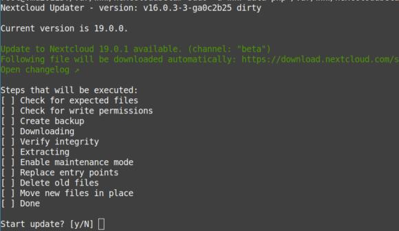 Nextcloud Hub 19.0.1 ist da
