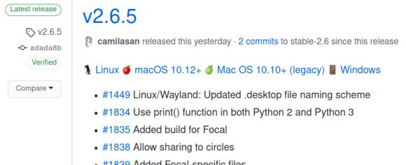 Nextcloud Desktop Client 2.6.5 ist verfügbar