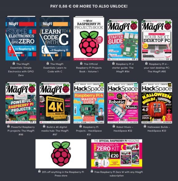 Raspberry Pi Press Bundle – 0,88 €