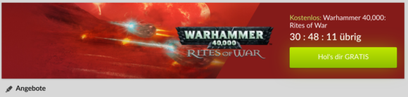 Warhammer 40.000: Rites of War nur kurze Zeit gratis bei Gog.com