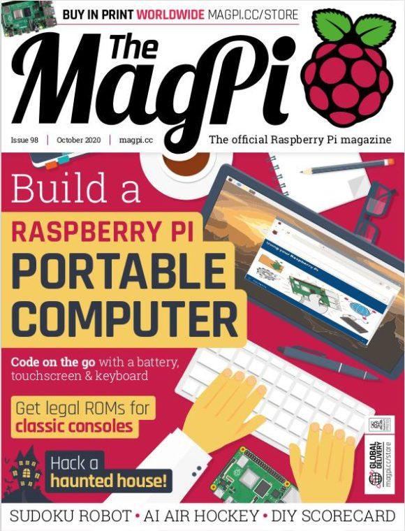Das MagPi 98 ist ist da – wie immer kostenlos!