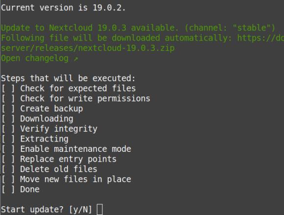Nextcloud 19.0.3 ist verfügbar