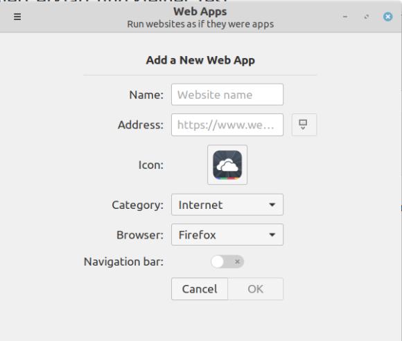 Neue Web Apps erstellen