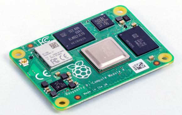 Das neue Compute Modue 4 (Quelle: raspberrypi.org)