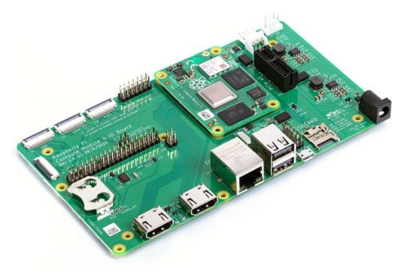 Compute Module 4 IO Board (Quelle: raspberrypi.org)